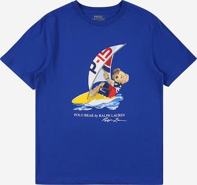Tricou POLO RALPH LAUREN pe safir / galben / roșu / alb, Vizualizare produs