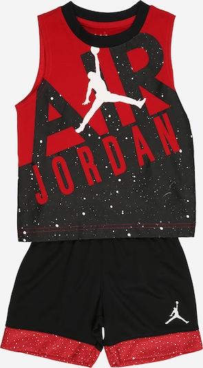 Jordan Treniņtērps, krāsa - antracīta / sarkans / melns / balts, Preces skats