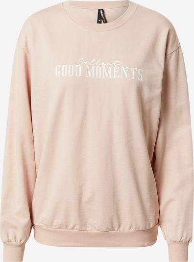 DeFacto Sweatshirt in Powder / White, Item view