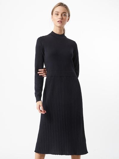 EDC BY ESPRIT Pletené šaty - čierna, Model/-ka