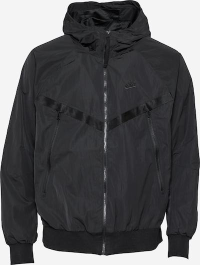 Nike Sportswear Prijelazna jakna u crna, Pregled proizvoda