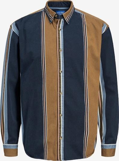 JACK & JONES Overhemd in de kleur Blauw / Bruin, Productweergave