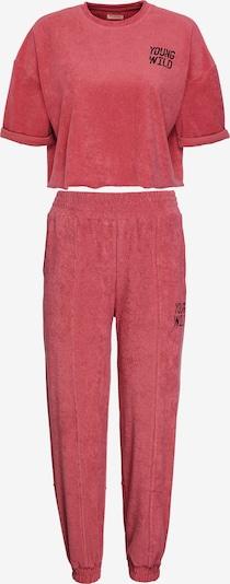 Grimelange Sweatanzug 'GWEN' in rot, Produktansicht