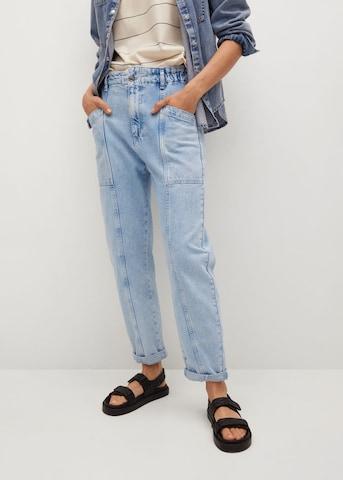 MANGO Jeans 'Angela' in Blauw