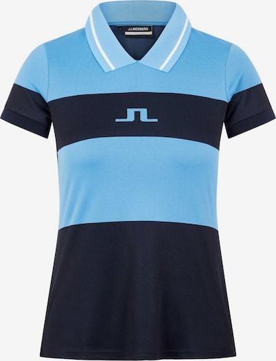 J.Lindeberg Shirt in himmelblau / dunkelblau, Produktansicht