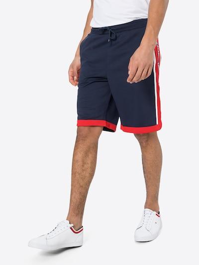 tengerészkék / tűzpiros / fehér Tommy Jeans Nadrág, Modell nézet