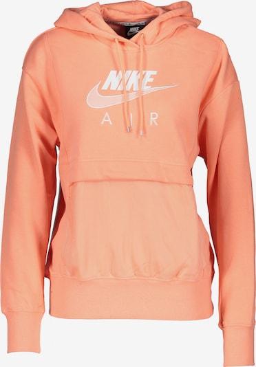 Nike Sportswear Sweatshirt in pfirsich / weiß, Produktansicht