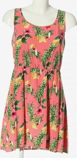 ONLY Minikleid in M in pastellgelb / grün / pink, Produktansicht