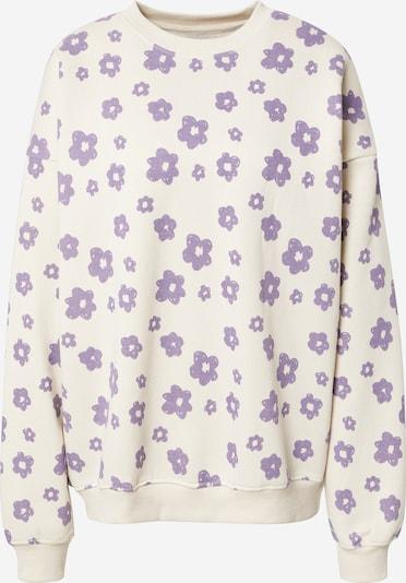 Daisy Street Sportisks džemperis 'SARA', krāsa - krēmkrāsas / lillā, Preces skats