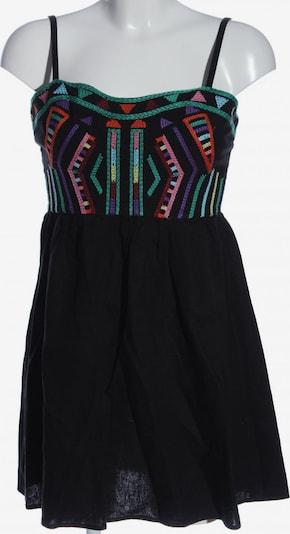 Staring at Stars A-Linien Kleid in XXS in khaki / hellorange / schwarz, Produktansicht