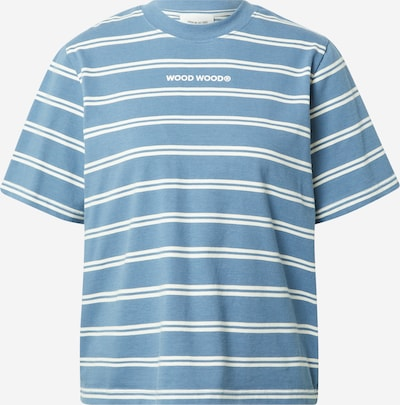 Maglietta 'Alma' WOOD WOOD di colore blu / bianco, Visualizzazione prodotti