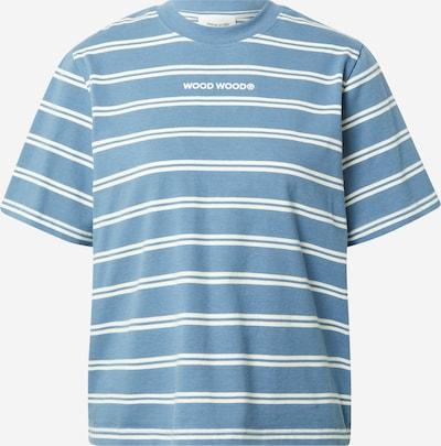 WOOD WOOD T-shirt 'Alma' en bleu / blanc, Vue avec produit