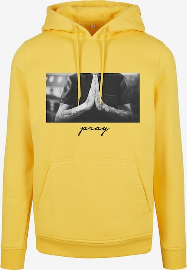 Mister Tee Mikina 'Pray' - žltá / sivá / čierna, Produkt