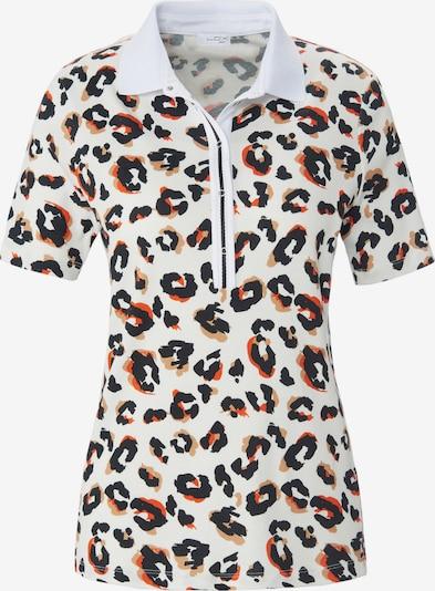 Looxent Polo-Shirt mit 1/2-Arm in mischfarben / weiß, Produktansicht