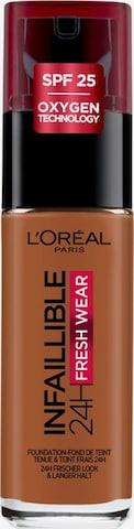 L'Oréal Paris Foundation 'Infaillible 24h Fresh Wear' in Braun
