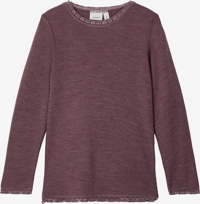 NAME IT Shirt in bordeaux, Produktansicht