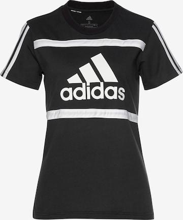 ADIDAS PERFORMANCE Performance Shirt in Black