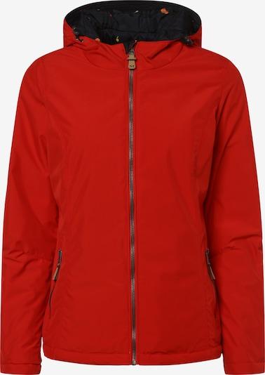 Marie Lund Jacke in marine / rot, Produktansicht