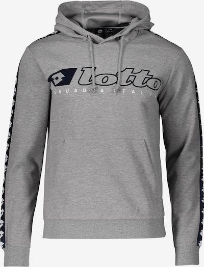 LOTTO Sweatshirt in graumeliert: Frontalansicht