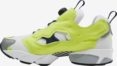 Reebok Sport Sneaker in neongelb / hellgrau / weiß, Produktansicht