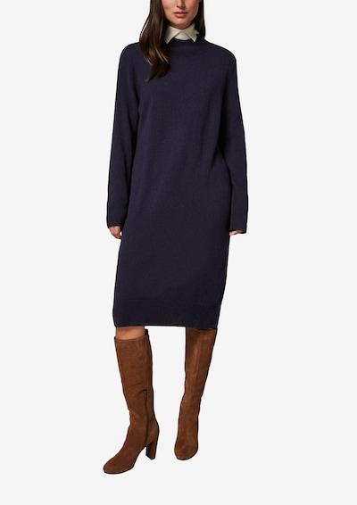 COMMA Turtleneck-Kleid mit Blockstreifen in navy, Modelansicht