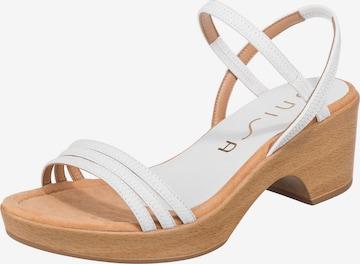UNISA Sandalette in Weiß