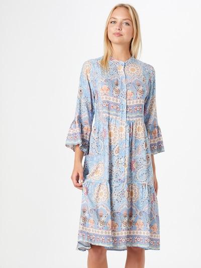 Rochie tip bluză 'Nana' ZABAIONE pe albastru deschis / mai multe culori, Vizualizare model