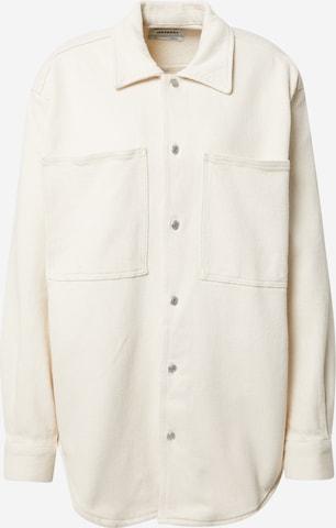 WEEKDAY Between-Season Jacket 'Alma' in White
