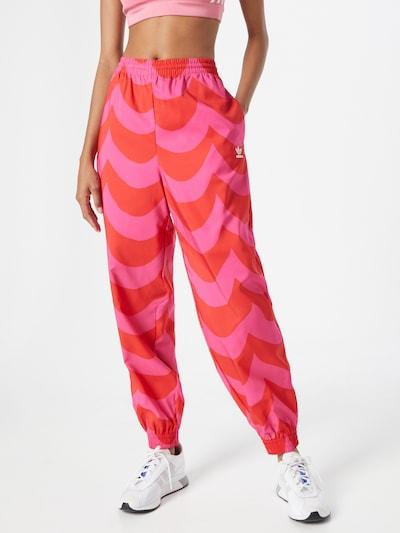 ADIDAS ORIGINALS Hose in pink / rot, Modelansicht
