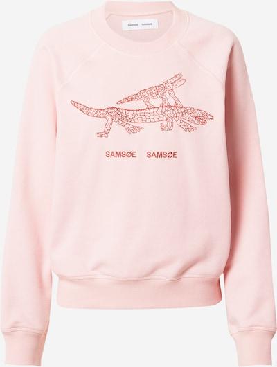 Felpa 'Barletta' Samsoe Samsoe di colore rosa / pitaya, Visualizzazione prodotti