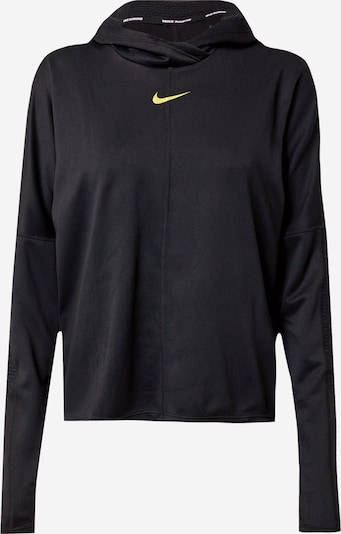 NIKE Sweatshirt 'Icon Clash' in gold / schwarz, Produktansicht