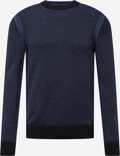 Pulover BOSS Casual pe albastru / bleumarin / albastru închis, Vizualizare produs