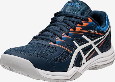 ASICS Sportovní boty 'UPCOURT GS' - modrá / námořnická modř / svítivě oranžová / bílá, Produkt