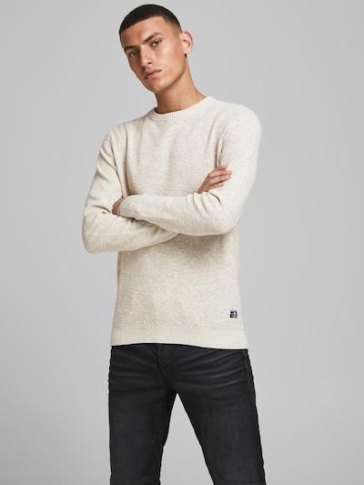 JACK & JONES Sweater in Beige, View model