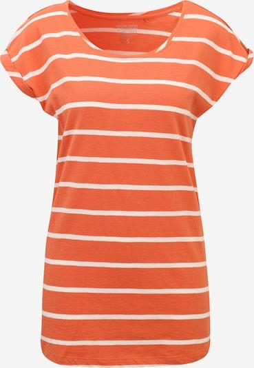 Tricou Esprit Maternity pe portocaliu somon / alb, Vizualizare produs