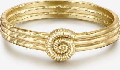 Glanzstücke München Silber-Ring in goldgelb, Produktansicht
