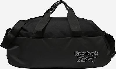 REEBOK Sportstaske 'ESSENTIALS' i sort / hvid, Produktvisning