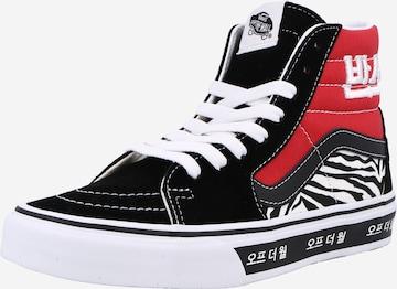 VANS High-Top Sneakers 'UA SK8-Hi' in Red