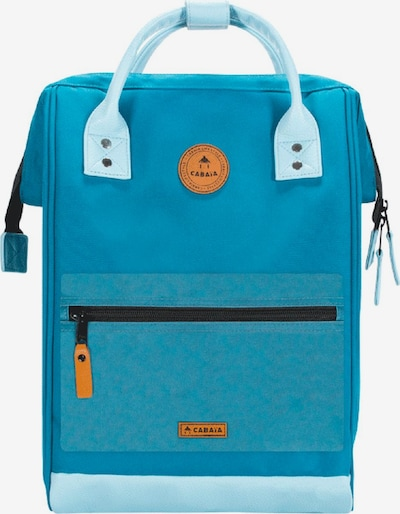 Cabaia Rucksack in himmelblau / hellblau, Produktansicht