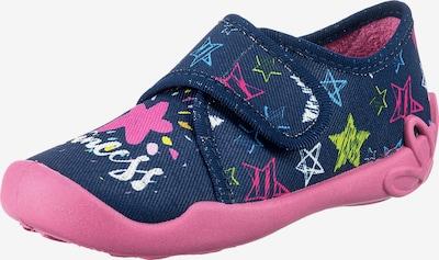 Fischer-Markenschuh Schuh in dunkelblau / gelb / weiß, Produktansicht