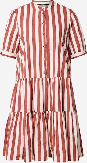 VERO MODA Sukienka koszulowa 'Delta' w kolorze rdzawobrązowy / białym, Podgląd produktu