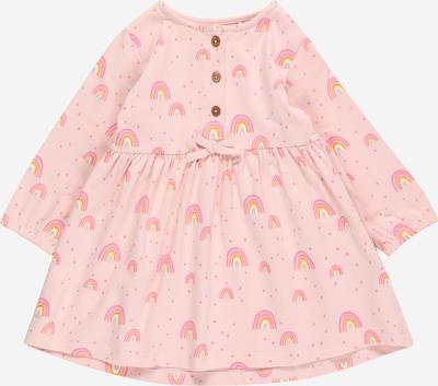 STACCATO Kleid in rauchblau / gelb / pink / hellpink, Produktansicht