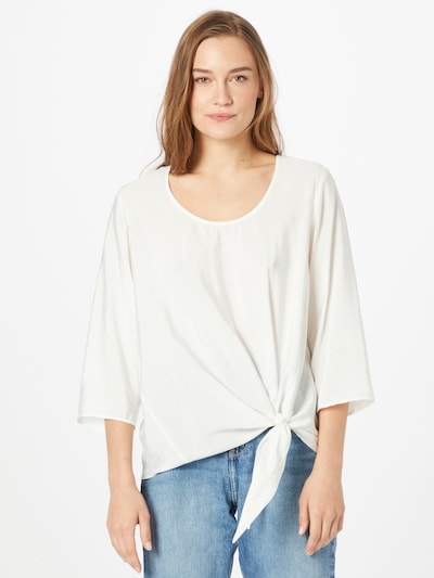 SAMOON Bluse in weiß, Modelansicht