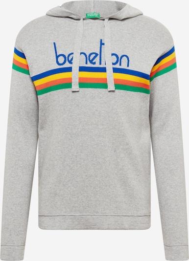 UNITED COLORS OF BENETTON Džemperis, krāsa - gaiši pelēks / jauktu krāsu, Preces skats