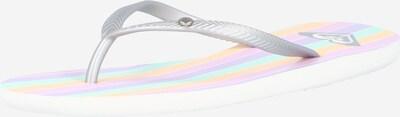Flip-flops 'BERMUDA' ROXY pe culori mixte / argintiu, Vizualizare produs