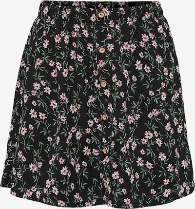 ONLY Rok 'Pella' in de kleur Beige / Groen / Pink / Zwart, Productweergave