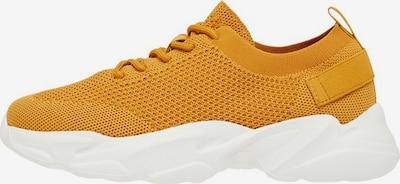 Bianco Baskets basses en jaune: Vue de face