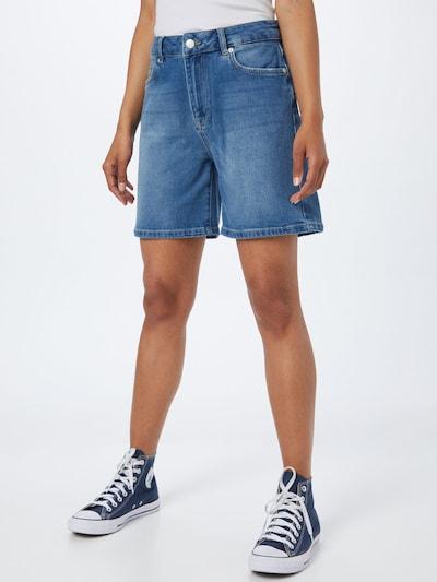 SELECTED FEMME Shorts 'Silla' in blue denim, Modelansicht