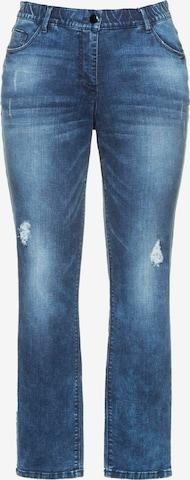 Ulla Popken Jeans 'SAMMY' in Blauw