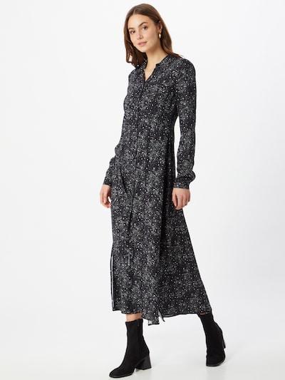 Rochie tip bluză Mavi pe negru / alb, Vizualizare model